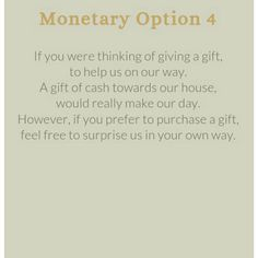 Money For Wedding Gift Wording : wording for wedding invitations asking for money - Google Search The ...