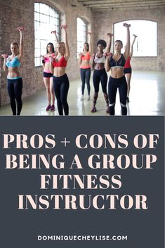 Pros & Cons of Being a Group Fitness Instructor
