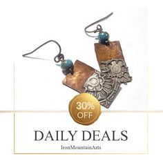 Today Only! 30% OFF this item.  Follow us on Pinterest to be the first to see our exciting Daily Deals. Today's Product: Copper Solder Stamped Earrings Set 8 Buy now: https://small.bz/AAimYy5 #etsy #etsyseller #etsyshop #etsylove #etsyfinds #etsygifts #musthave #loveit #instacool #shop #shopping #onlineshopping #instashop #instagood #instafollow #photooftheday #picoftheday #love #OTstores #smallbiz #sale #dailydeal #dealoftheday #todayonly #instadaily #instadaily #todayonly #dealoftheday…