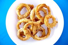Baked, not fried onion rings