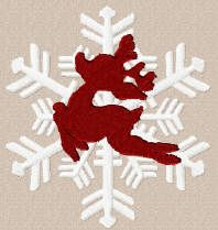 Threadsketches' set Winter Friends - Christmas embroidery designs, Big Black Friday Sale!, reindeer snowflake