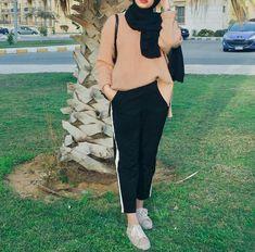 Ideas For Fashion Modest Casual Sleeve Hijab Fashion Summer, Modern Hijab Fashion, Muslim Women Fashion, Street Hijab Fashion, Arab Fashion, Hijab Fashion Inspiration, Islamic Fashion, Trendy Fashion, Fashion Outfits