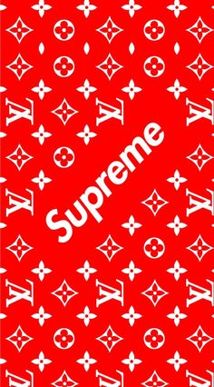 Supreme x Louis Vuitton Wallpaper For Your Phone, Lock Screen Wallpaper, I Wallpaper,
