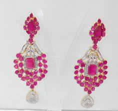 rubies.work/... Buy Ruby Stone Earrings Online at Low Prices in India | Amazon Jewellery Store – Amazon.in