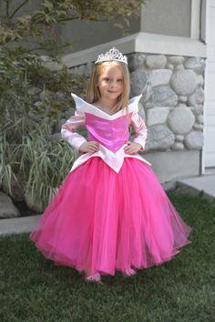 Sleeping Beauty Costume Dress Princess Aurora by BITSnSCRAPS, $75.00