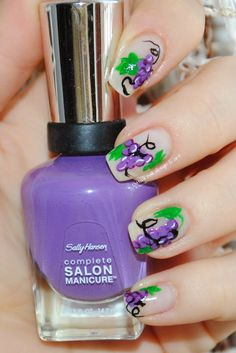 Sally Hansen- Good to grape