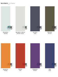 Collezione ACIDATI / ETCHED Collection di #MRartdesign