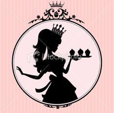 Princess Cupcake Frame
