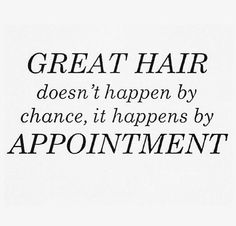 Absolutely! Make your appointment today. #WhatsYourColorPersonality
