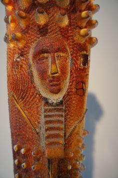 Bertil Vallien (Swedish, Sand Cast Sculpture with Internal Ornamentation. Cold Worked Glass, Sculpture Techniques, Sandblasted Glass, Cast Glass, Kosta Boda, Virtual Art, Glass Ceramic, Art Nature, Ceramic Artists
