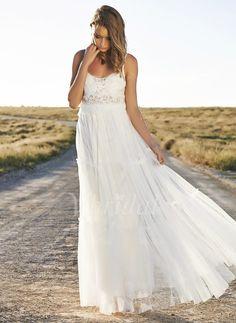 Brautkleider - $164.42 - A-Linie/Princess-Linie Herzausschnitt Bodenlang Tüll Brautkleid mit Rüschen Spitze (0025060174)