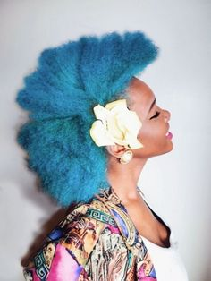 color natural hair without damage