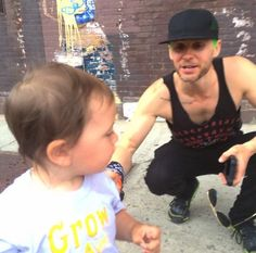 Jared Leto recently with a young fan! #SuicideSquad