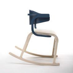 Perch Rocking Chair Blue