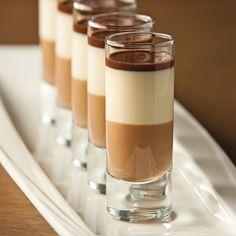 Verrines triplement chocolatées - Recettes - Cuisine et nutrition - Pratico Pratique