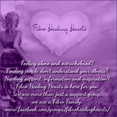Fibro Healing Hearts FB Support Group