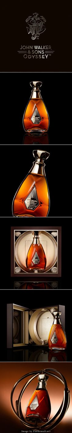 Packaging of the World is a package design inspiration archive showcasing the best, most interesting and creative work worldwide. Cool Packaging, Wine Packaging, Brand Packaging, Scotch Whiskey, Bourbon Whiskey, Liquor Bottles, Wine And Beer, Bottle Design, Packaging Design Inspiration