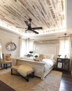 Small Bedroom Ideas for Small Space Home Small Bedroom Ideas Make Your Home Bigger Inspiring & Pictures. Try our tips and tricks for creating a master bedroom that's truly a relaxing retreat. Bedroom Ideas, Decorating Tips and Decor Inspiration. French Country Bedrooms, French Country Decorating, Bedroom Country, Bedroom Rustic, Bedroom Romantic, Silver Bedroom, Industrial Bedroom, Wood Bedroom, Bedroom Minimalist