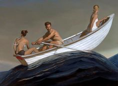 A selection of paintings by American painter Bo Bartlett. Have a look at more images and a video below. Bo Bartlett's Website American Realism, American Artists, Realism Artists, Bo Bartlett, Andrew Wyeth, Promised Land, Community Art, Figure Painting, Figurative Art