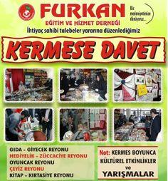 Hayır Çarşısı | 03-10 Mayıs 2014 İstanbul, Furkan Eğitim ve Hizmet Vakfı Kermesi | http://hayircarsisi.com
