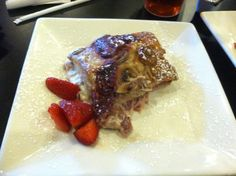 Cream cheese stuffed French Toast; Olive Branch, Waco Texas