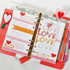Bits and Pieces...: Webster's Pages Planner Love