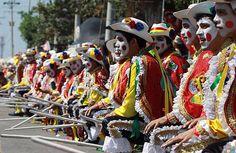 Gran Parada de Tradición lleva el carnaval de Barranquilla a su ...