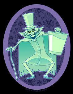 Hatbox Ghost by ZoeStanleyArts on DeviantArt