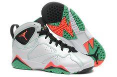 new styles 9bf0c c7d71 New Air Jordan Air Jordan 7 GS Verde White Black Verde Infrared 23 Poison  Green 705417 138