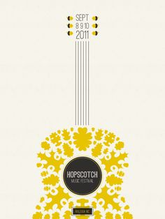hopscotch music fest poster