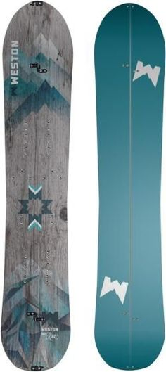 Evolving from the award-winning Backwoods board, the women's Weston Riva splitboard is designed for aggressive riders who love the thrill of big mountain surfing, steep variable terrain and deep pow. Snowboarding Quotes, Snowboarding Women, Snowboarding Outfit, Winter Hiking, Winter Fun, Winter Sports, Snowboard Goggles, Ski And Snowboard, John Muir