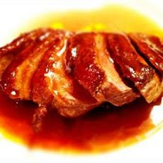 Recipe photo: Seared duck breasts with honey, soy and ginger Ive made this its delicious I also made stir fried veg and noodles to accompany it Roasted Duck Recipes, Meat Recipes, Asian Recipes, Cooking Recipes, Healthy Recipes, Confit Recipes, Chinese Recipes, Yummy Recipes, Chicken Recipes