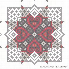 Brilliant Cross Stitch Embroidery Tips Ideas. Mesmerizing Cross Stitch Embroidery Tips Ideas. Biscornu Cross Stitch, Xmas Cross Stitch, Cross Stitch Heart, Cross Stitch Borders, Counted Cross Stitch Patterns, Cross Stitch Designs, Cross Stitching, Cross Stitch Embroidery, Paper Embroidery