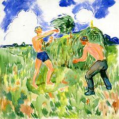 Haymaking Edvard Munch - 1942