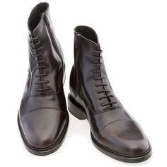 SPECIAL OFFER - Portofino - Elevator boots. Upper in full grain leather, insole and midsole in genuine leather, Leather heel with special anti-slip rubber. Hand Made in Italy by www.GuidoMaggi.com/us