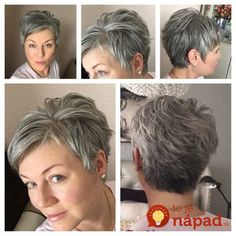 Best Short Haircuts for Older Women - The UnderCut - Stylish-Pixie-Haircut-for-Thin-Hair Best Short Haircuts for Older Women - Pixie Haircut Thin Hair, Thin Hair Haircuts, Mom Hairstyles, Best Short Haircuts, Short Hairstyles For Women, Pixie Undercut Hair, Short Hair Cuts For Women Over 50, Grey Haircuts, Curly Pixie
