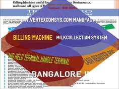 Vertex Comsys is best manufacturing company in Bangalore. It manufacuturs the product like Pigmy machine, Billing machine, QR code printer, Cash register POS