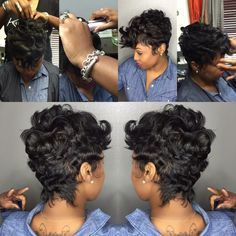 Wish DMV stylist can do this to my hair too bad they all suck!!! I'm moving to Atlanta