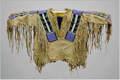 Boy's shirt Crow, Millicent Rogers Mus., Taos  ac