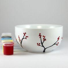 Bella Paint for Glass Kit - Circle Bowl
