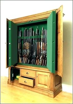 Image are glass gun cabinets legal in canada hosted in Life Trends 1 Wood Gun Cabinet, Gun Cabinet Plans, Arcade Cabinet Plans, Shop Cabinets, Cabinets For Sale, Built In Cabinets, Gun Cabinets, Gun Closet, Mame Cabinet