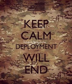 deployment will end. True but not always easy to remember . Military Homecoming, Military Mom, Army Mom, Military Couples, Military Dating, Military Deployment, Military Wedding, Army Quotes, Military Quotes