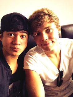 Ash and cal :)