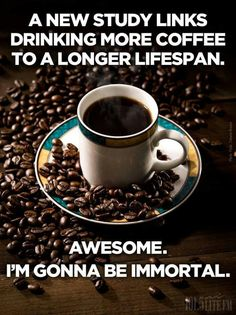 ☕ = awesome = immortality