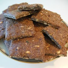 Rye Bread Recipes, Low Carb Recipes, Cake Recipes, Healthy Recipes, Biscotti, Gluten Free Snacks, Bread And Pastries, Food Cakes, Dough Recipe
