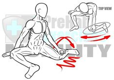 Rolling the Peroneals - Lateral Calf Muscles Help Correct Valgus Knee Movements and Prevent ACL tears/strains Benefits: Increases the Range of Motion of Ankle Knee and Gait Cycle. Improves force transfer and coordination from the Hip through the Ankle/Foo dynamic stretching back