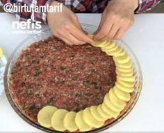 Tablett Kebab Rezept, How To - Leckere Rezepte - Yemek tarifleri - Iftar, Turkish Kitchen, Kebab Recipes, Cooking Recipes, Healthy Recipes, Delicious Recipes, Amish Recipes, Dutch Recipes, Snacks Für Party
