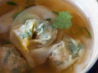 Pork and Spinach wontons/dumplings