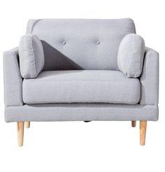 Plush Accent Chair- ELLEDecor.com