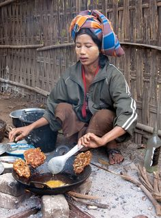 street food, Burma | Elaine Springford, Fotopedia